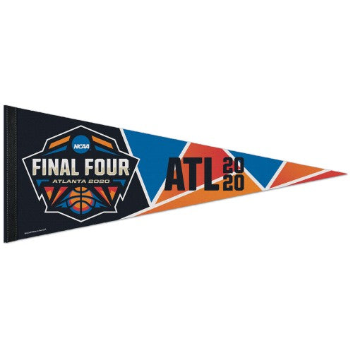 *SHIPS 4/3* NCAA Men's Basketball Final Four Atlanta 2020 Official Premium Felt Event Pennant - Wincraft