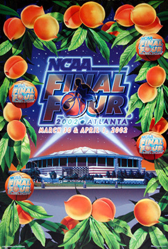 NCAA Men's Basketball Final Four 2002 Official Poster - Action Images