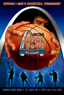 NCAA Men's Basketball Final Four 2005 Official Poster - Action Images Inc.