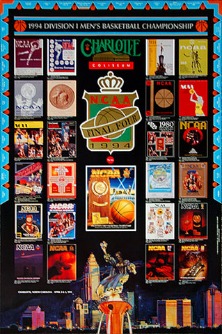 NCAA Men's Basketball Final Four 1994 Official Event Poster - Action Images