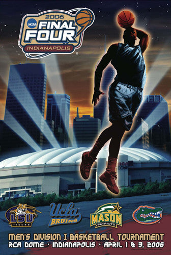 "NCAA Men's Final Four 2006 ""Four Logos"" Official Poster - Action Images"