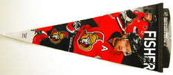 "Mike Fisher ""Big-Time"" EXTRA-LARGE Premium Felt Pennant"