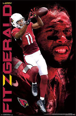 "Larry Fitzgerald ""The Great One"" Arizona Cardinals NFL Football Poster - Trends Int'l."
