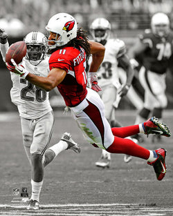 "Larry Fitzgerald ""Spotlight"" Arizona Cardinals Premium Poster Print - Photofile 16x20"