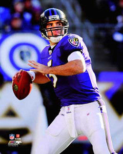 "Joe Flacco ""Look Deep"" (2011) Poster Print - Photofile 16x20"