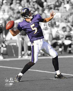 "Joe Flacco ""Spotlight"" Baltimore Ravens Poster Print - Photofile 16x20"
