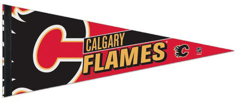 Calgary Flames NHL Hockey Official Team Premium Felt Pennant - Wincraft Inc.