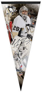 "Marc-Andre Fleury ""Big-Time"" EXTRA-LARGE Premium Felt Pennant - Wincraft"