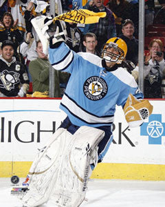 "Marc-Andre Fleury ""Steeler Pride"" (2009) Pittsburgh Penguins Premium Poster Print - Photofile Inc."