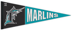 Florida Marlins Official MLB Retro 1990s Style Premium Felt Pennant - Wincraft Inc.