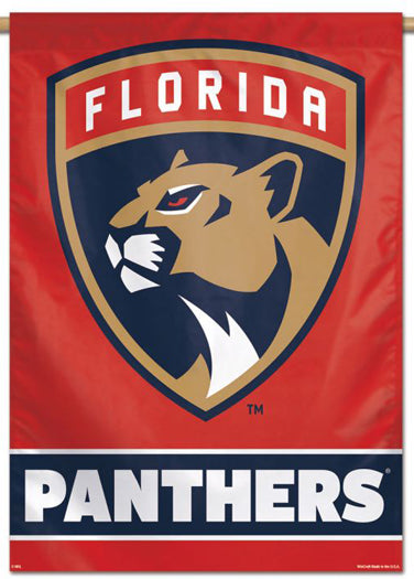 Florida Panthers Official NHL Hockey Team Premium 28x40 Wall Banner - Wincraft Inc.