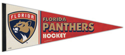 Florida Panthers NHL Vintage Hockey Collection Premium Felt Collector's Pennant - Wincraft