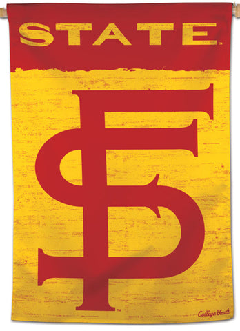 Florida State Seminoles NCAA College Vault Series 1950s-Style Official NCAA Premium 28x40 Wall Banner - Wincraft Inc.