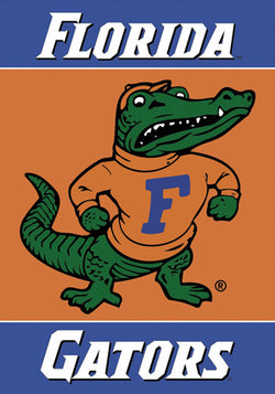 "Florida Gators ""Albert"" Premium 28x40 Banner Flag - BSI Products"