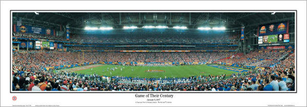"Florida Gators ""Game of Their Century"" (2006 BCS Champions) Panoramic Poster Print - Everlasting"