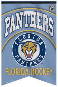 Florida Panthers NHL Hockey Premium Felt Banner - Wincraft Inc.
