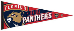 Florida Panthers Official NHL Hockey Logo-Style Premium Felt Pennant - Wincraft Inc.