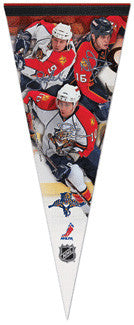 "Florida Panthers ""Action"" Premium Felt Pennant L.E. /2,009"