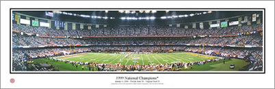 "Florida State Seminoles ""1999 National Champions"" Panoramic Poster Print - Everlasting Images"
