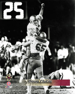 "Doug Flutie ""Hail Mary"" (Boston College 1984) Premium Poster Print - Photofile Inc."