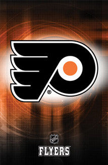 Philadelphia Flyers Official NHL Logo Poster - Costacos Sports