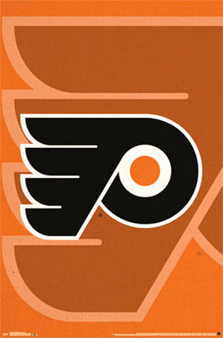 Philadelphia Flyers Official NHL Hockey Team Logo Poster - Costacos Sports
