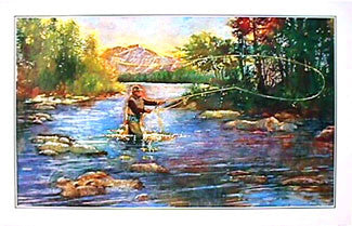 Fly Fishing Classic by Paul Birling Premium Poster - Portal Publications