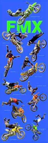 "DOOR-SIZED ""FMX"" (10 Tricks) - Wizard & Genius 2006"
