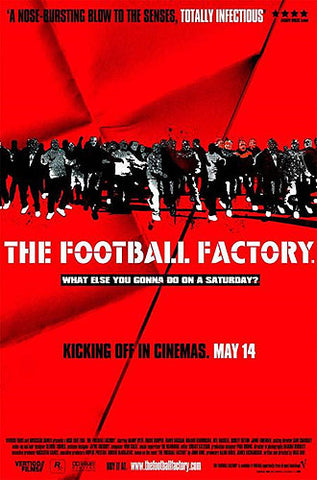 The Football Factory Movie Poster Reprint - Pyramid 2004