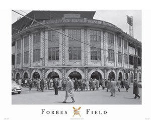 "Forbes Field Pittsburgh ""Baseball Memories"" (1956) Poster - Image Source"