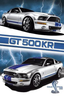 Ford Shelby GT 500KR (2009) Poster - GB Eye