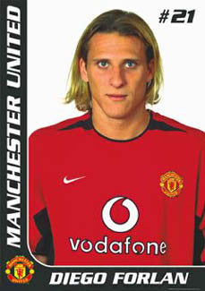 "Diego Forlan ""Portrait"" - GB Posters 2003"