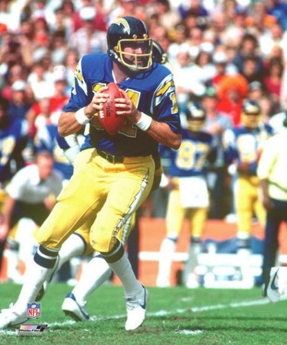 "Dan Fouts ""Drop Back Classic"" (c.1981) San Diego Chargers Premium Poster - Photofile"