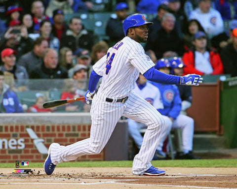 "Dexter Fowler ""Extra-Bases"" Chicago Cubs Premium MLB Baseball Poster Print - Photofile 16x20"