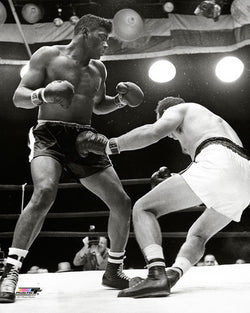 "Floyd Patterson ""Johansson Knockout"" (1960) Classic Boxing Poster Print - Photofile Inc."