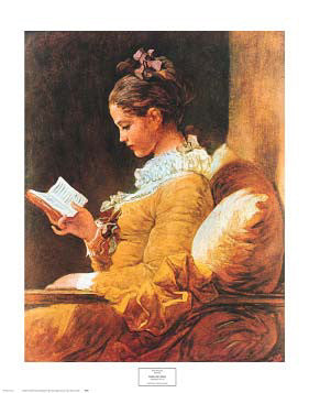 Young Girl Reading (1776) by Jean-Honore Fragonard - NYGS