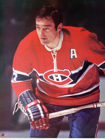"Frank Mahovlich ""Habs Classic"" Montreal Canadiens Poster - Sports Posters Inc 1973"
