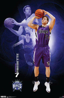 "Jimmer Fredette ""Superstar"" Sacramento Kings NBA Action Poster - Costacos 2012"