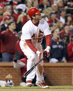 "David Freese ""Home Run Hero"" (2011 WS Game 6 Winner) - Photofile 16x20"