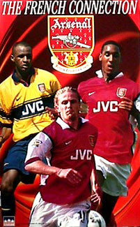 "Arsenal FC ""The French Connection"" Poster - Starline Inc. 1998"