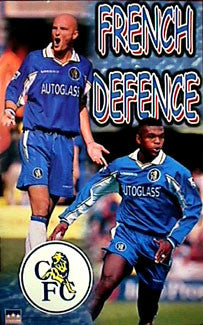 "Chelsea ""French Defence"" (Leboeuf, Desailly) - Starline 1999"