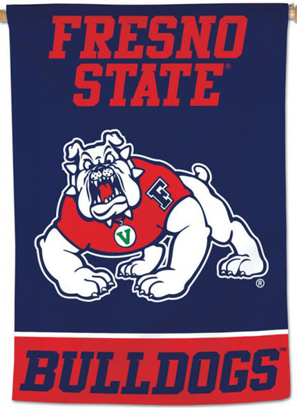 Fresno State Bulldogs Official NCAA Team Logo NCAA Premium 28x40 Wall Banner - Wincraft Inc.