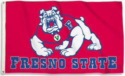 Fresno State Bulldogs Official NCAA Team 3'x5' FLAG - BSI Products Inc.