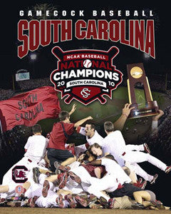 South Carolina Baseball 2010 College World Series Champs Premium Poster - Photofile 16x20