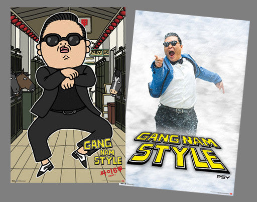 Psy GANG NAM STYLE Two-Poster Combo Set - Trends International