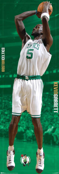 "Kevin Garnett ""Big Green"" Door-Sized Boston Celtics Poster - Costacos 2008"