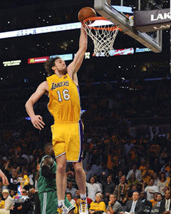 "Pau Gasol ""PowerSlam"" (2010) - Photofile 16x20"