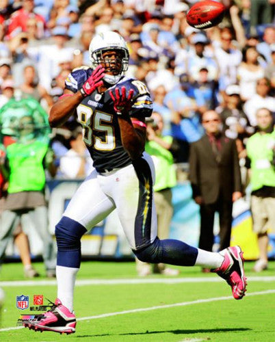 "Antonio Gates ""Haulin' In"" (2010) San Diego Chargers Premium Poster - Photofile 16x20"