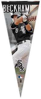 "Gordon Beckham ""Superstar"" Premium Collector's Pennant L.E. /2,009"