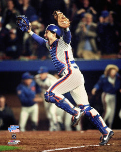 "Gary Carter ""Celebration"" (1986 World Series) New York Mets Premium Poster - Photofile Inc."